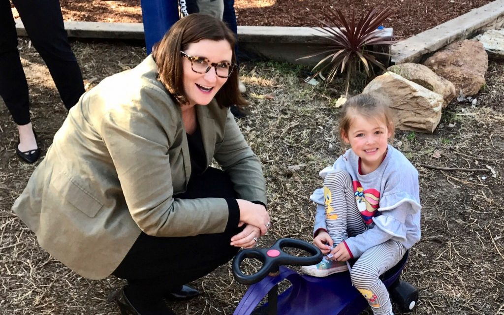 Nationals In Government Support Drought-Affected Preschools