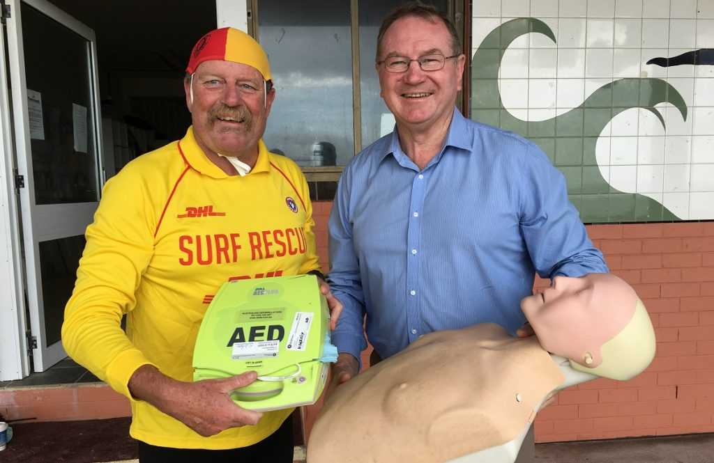 More Defibrillators Thanks To Nationals In Government