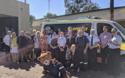 Steph Cooke Opens Ardlethan Ambulance Station