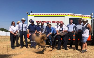 Construction Begins On Cowra Ambulance Station