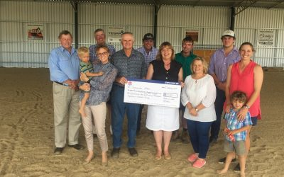 Nats Deliver New Livestock Facility For Cootamundra