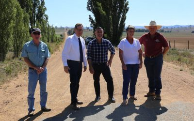 Barilaro Unveils Plans To Upgrade Snowy Roads