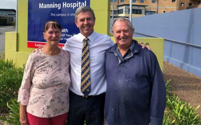 Gillespie Announces Radiation Oncology Cancer Unit