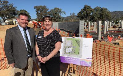 Foundation Works Underway At Mudgee Hospital