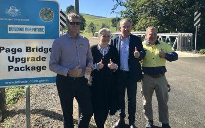 More Bridges If Nationals Re-Elected