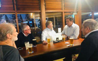 Political Hopeful Passes The Pub Test In Cowper