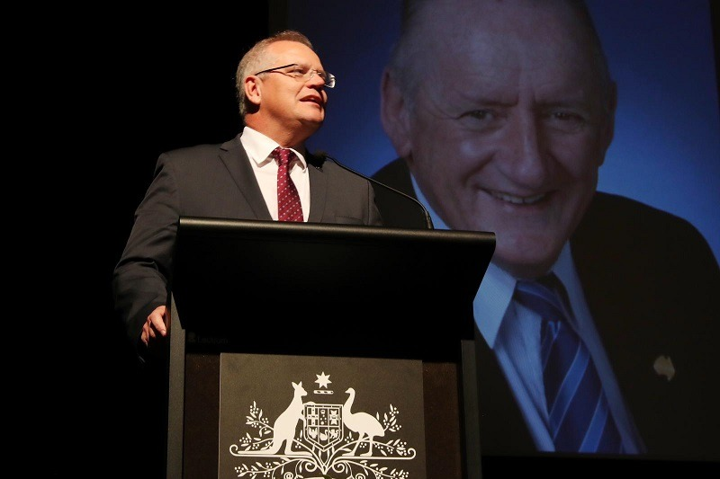 Prime Minister Scott Morrison's speech from Tim Fischer's State Funeral